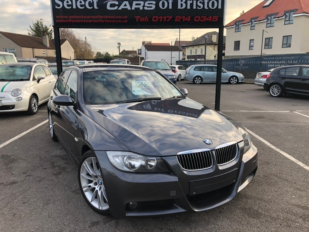 used BMW 325d 3 Series M Sport 4dr
