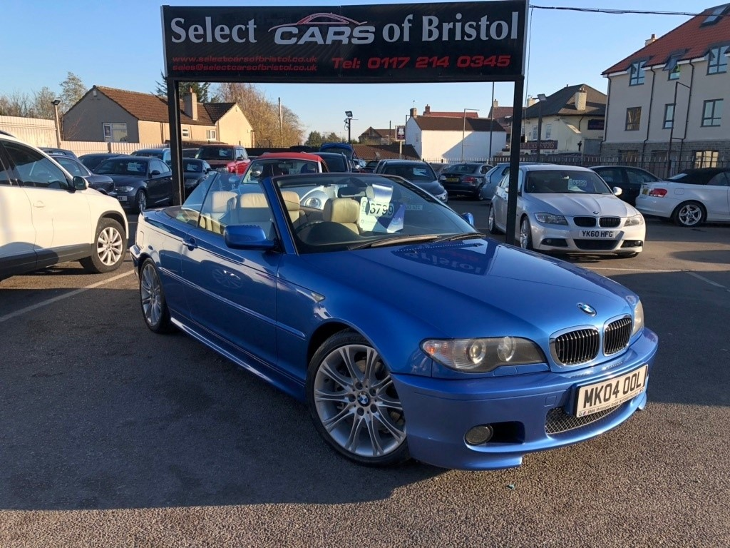 used BMW 330ci 3 Series Sport Convertible 2dr Automatic (229 g/km, 231 bhp)