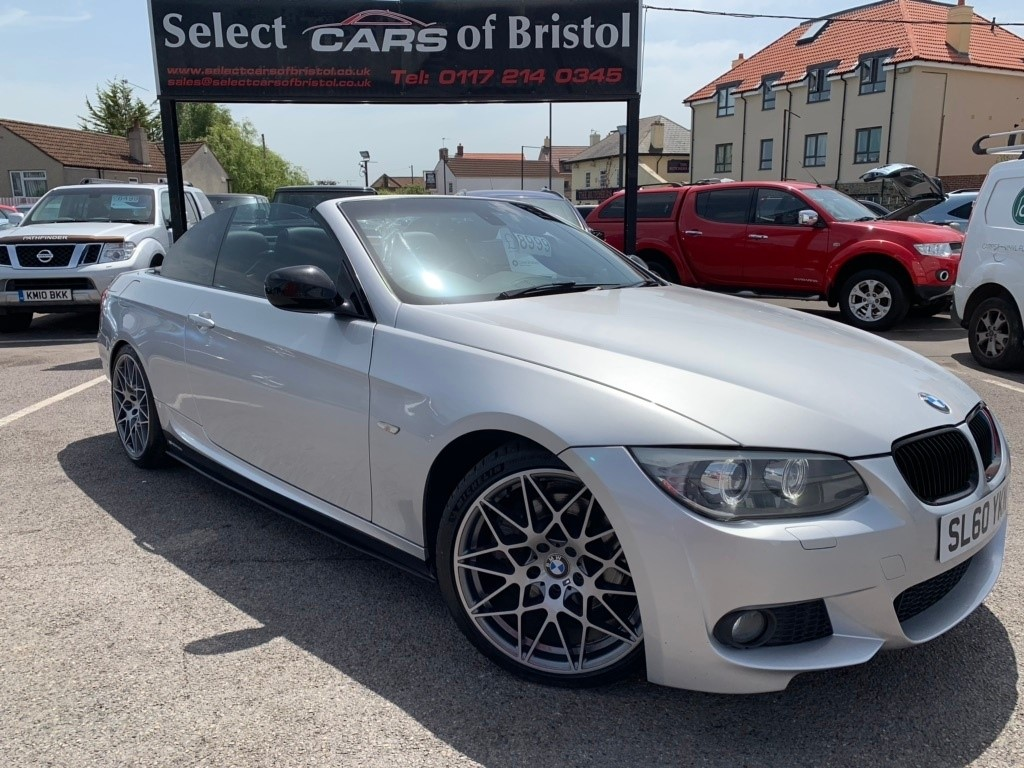 used BMW 330d 3 Series M Sport Convertible 2dr Automatic (170 g/km, 245 bhp)
