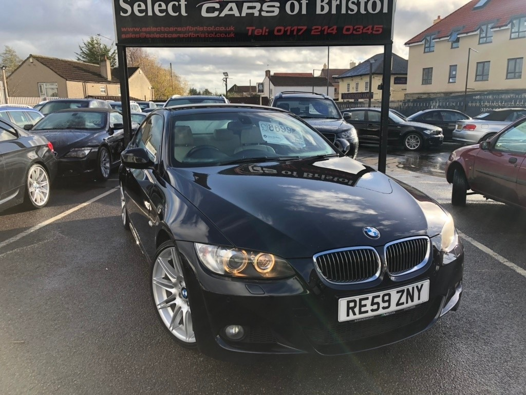 used BMW 330d 3 Series M Sport Coupe 2dr Automatic (164 g/km, 245 bhp)