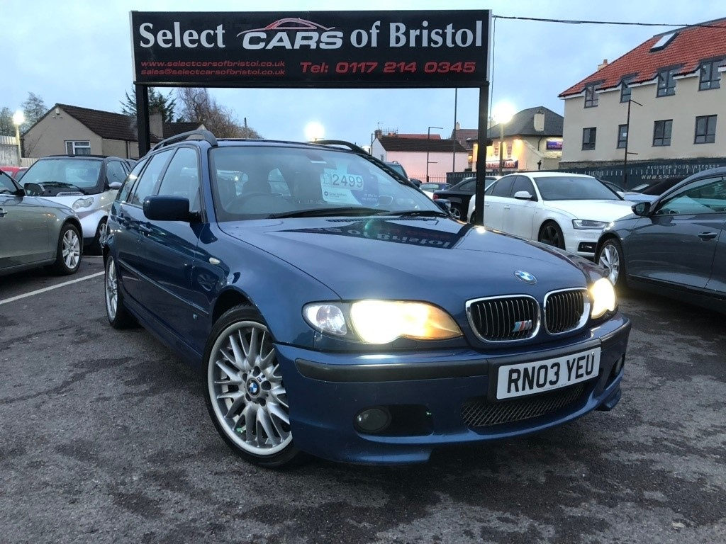 used BMW 330d 3 Series Sport Touring 5dr Manual (186 g/km, 184 bhp)