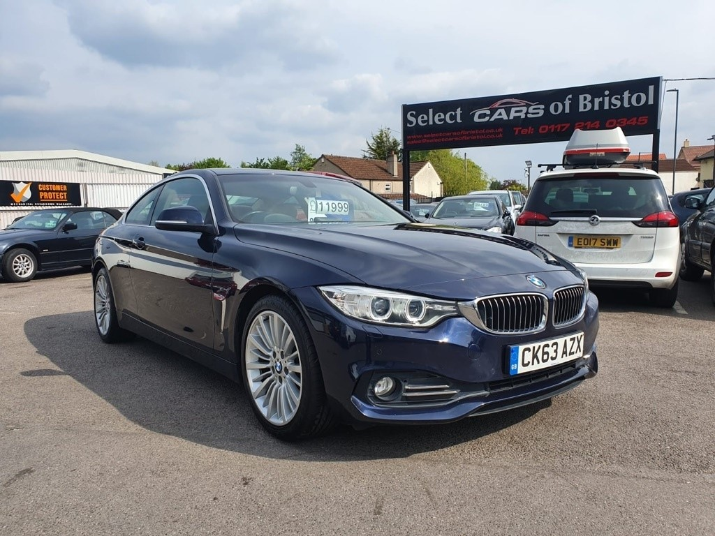 used BMW 420d 4 Series Luxury Coupe 2dr Manual (124 g/km, 184 bhp)