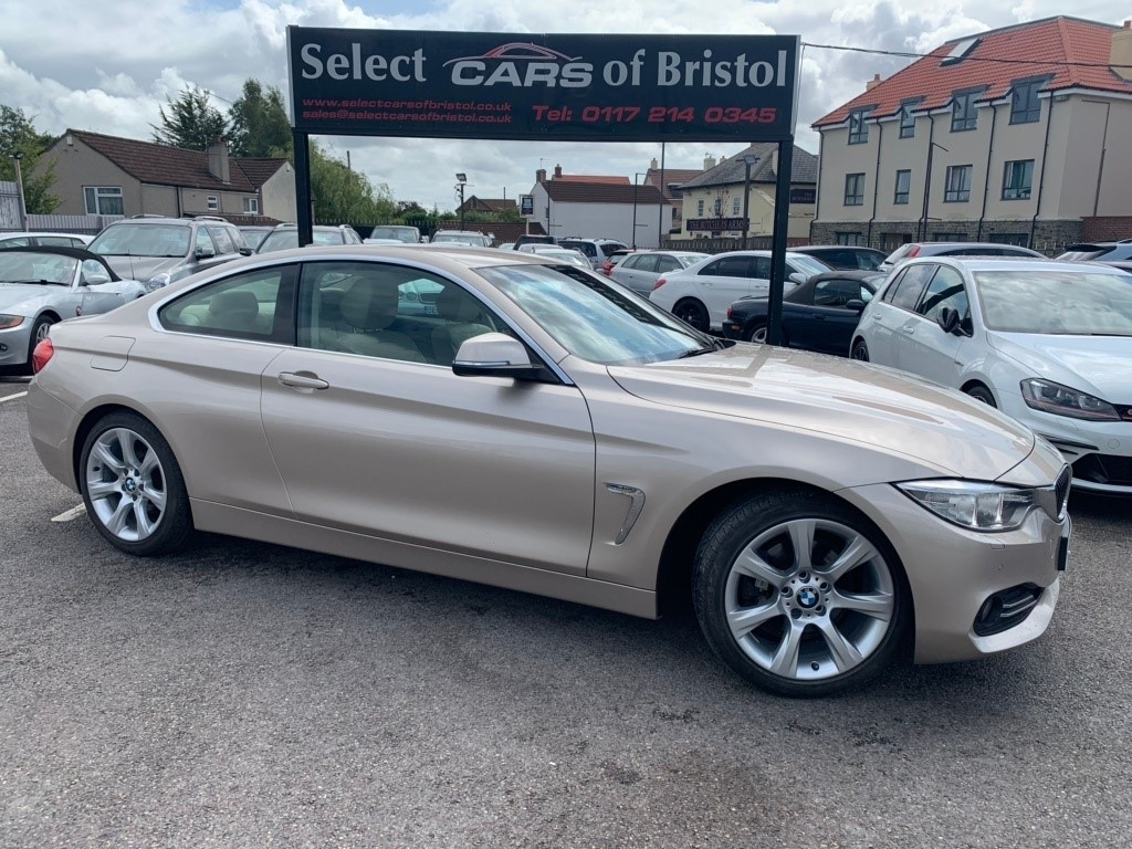 used BMW 428i 4 Series Luxury 2dr