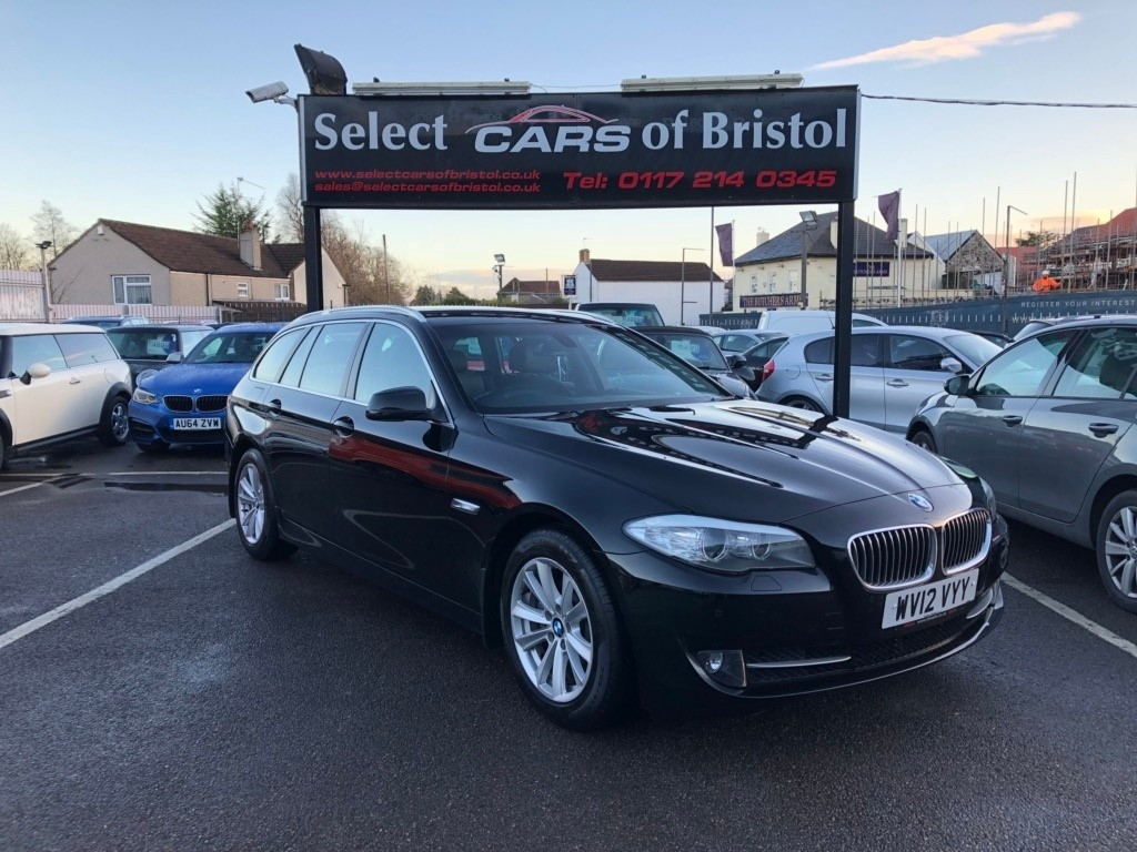 used BMW 520d 5 Series BluePerformance SE Touring 5dr Manual (134 g/km, 184 bhp)