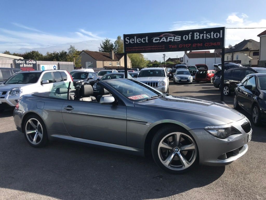 used BMW 630i 6 Series Sport 2dr
