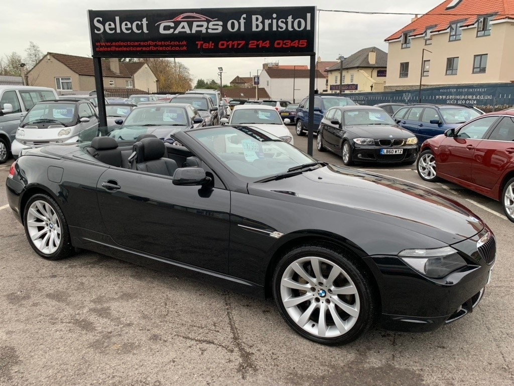 used BMW 650i 6 Series Sport 2dr