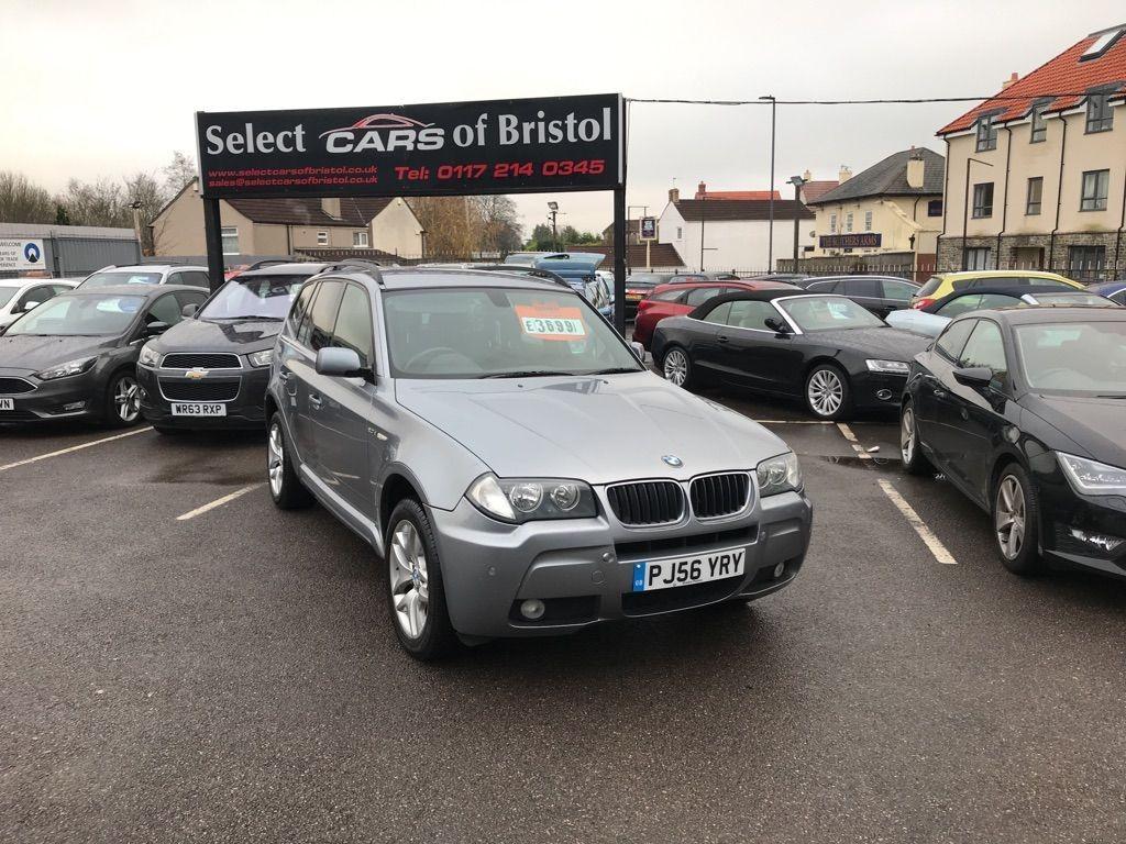 used BMW X3 20d M Sport SUV 5dr Manual (191 g/km, 150 bhp)