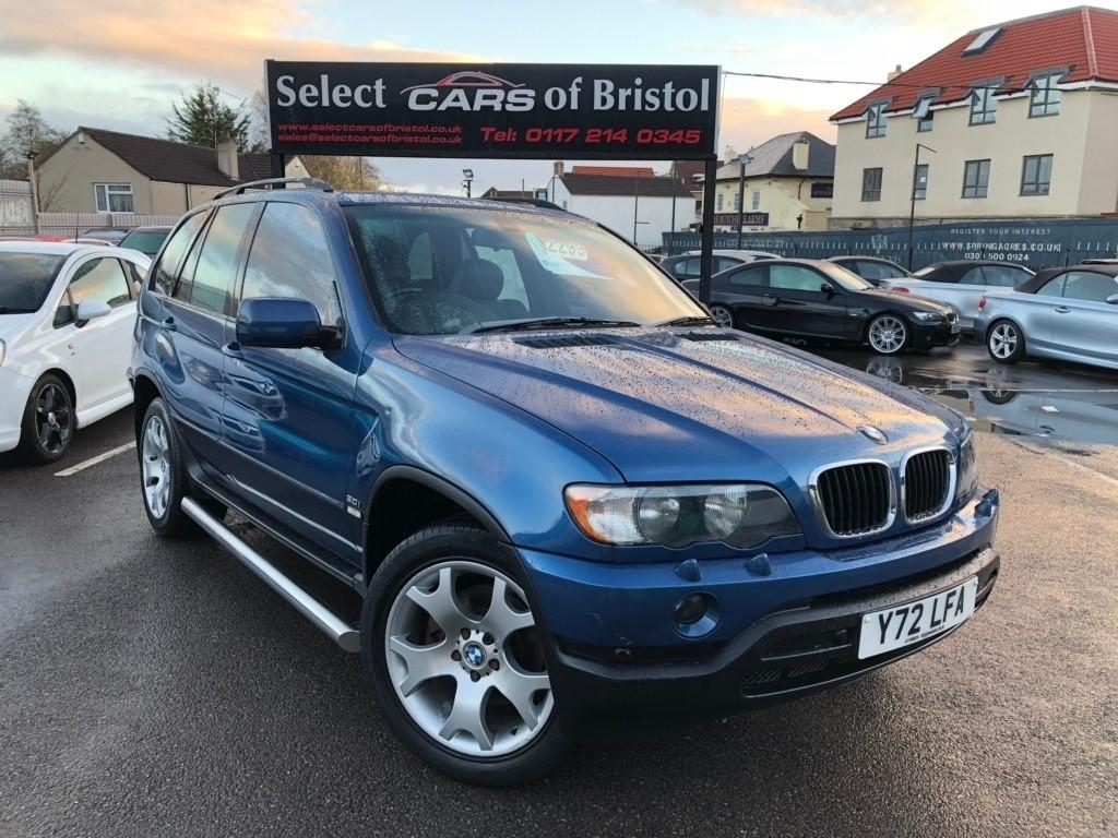 used BMW X5 i Sport 5dr
