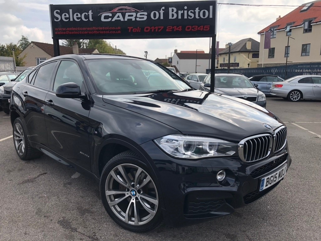 used BMW X6 40d M Sport Steptronic xDrive 5dr