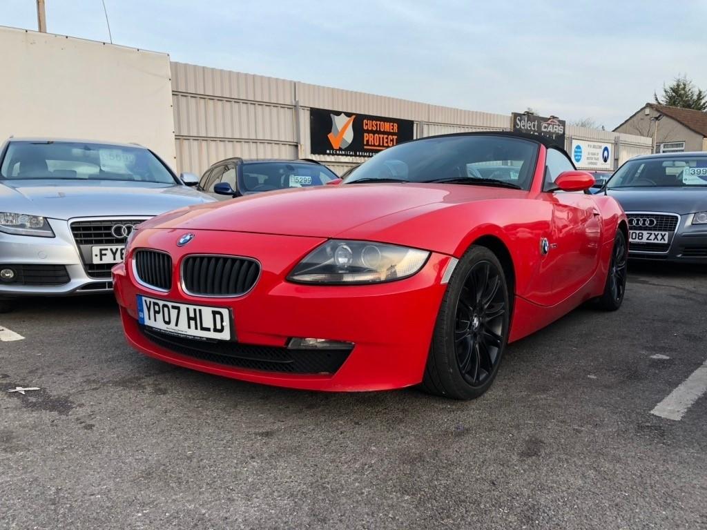 used BMW Z4 i Sport Roadster 2dr Manual (176 g/km, 150 bhp)