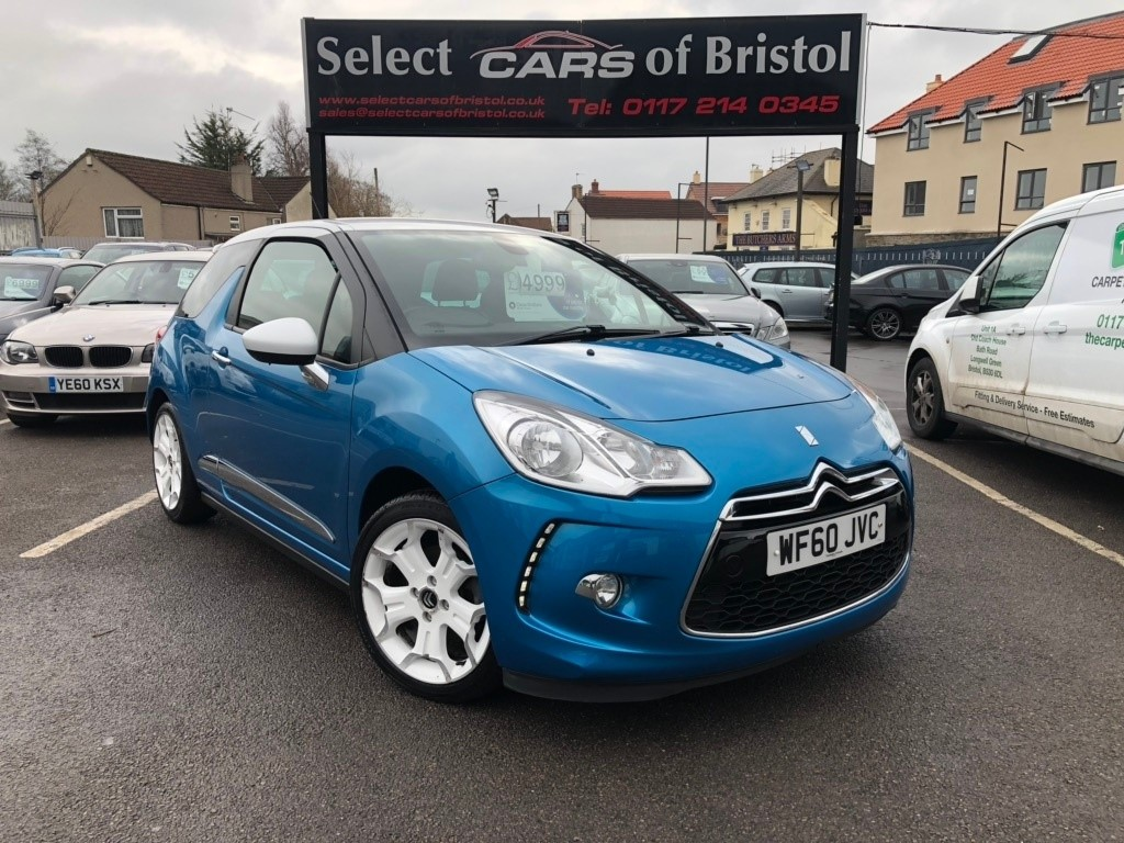 used Citroen DS3 THP DSport Hatchback 3dr Manual (155 g/km, 150 bhp)