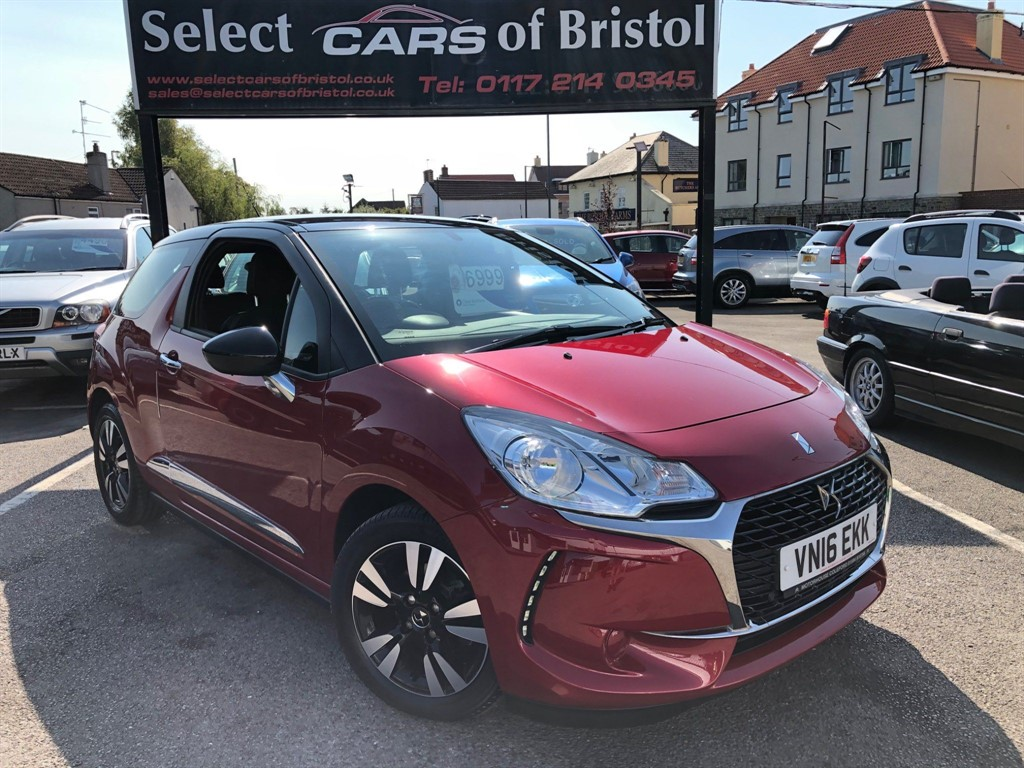 used DS 3 PureTech Chic