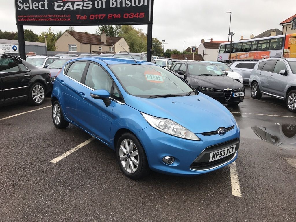 used Ford Fiesta TDCi Zetec Hatchback 5dr Manual (110 g/km, 67 bhp)