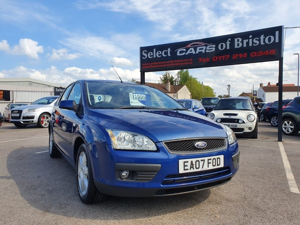 used Ford Focus TDCi Sport Hatchback 5dr Manual (127 g/km, 89 bhp)