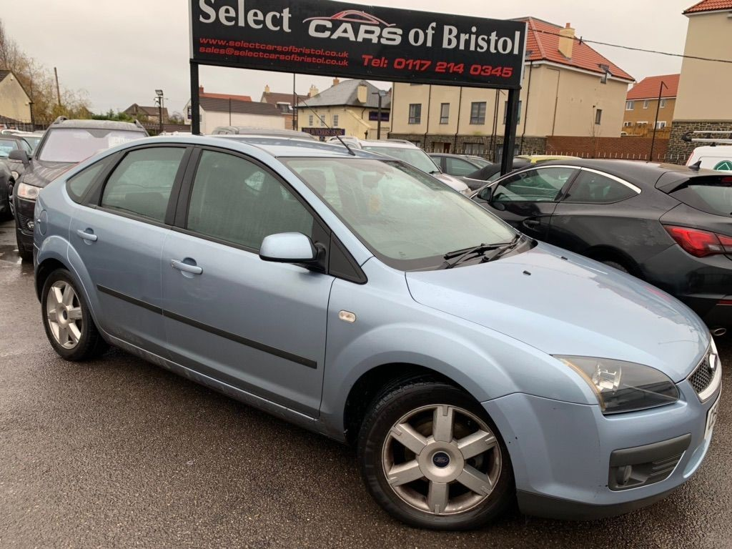 used Ford Focus Zetec Climate 5dr
