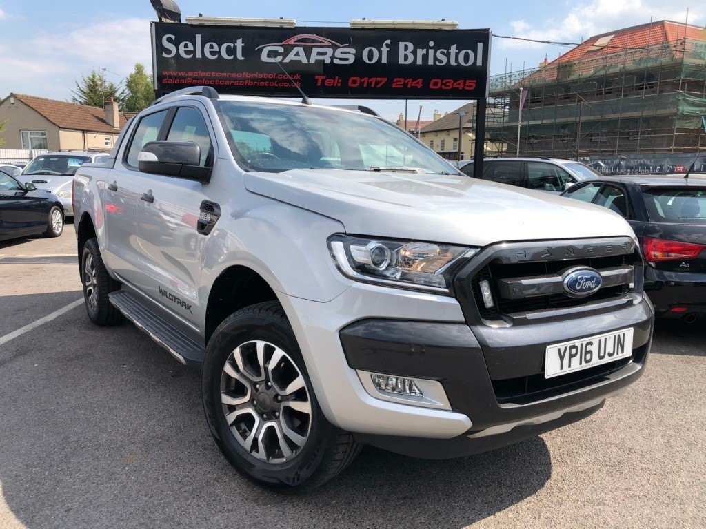 Used ford ranger tdci wildtrak double cab pickup 4x4 4dr
