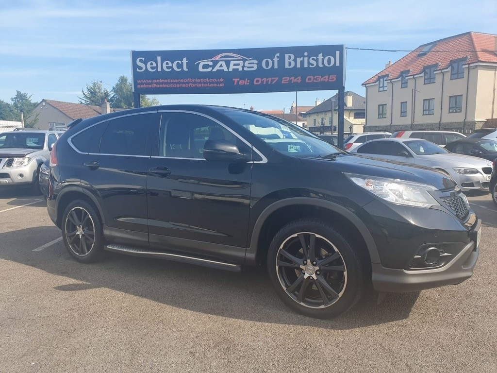 used Honda CR-V i-DTEC Black Edition 4x4 5dr (dab)