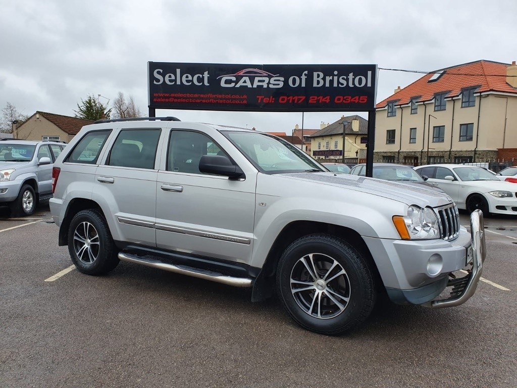 used Jeep Grand Cherokee CRD V6 Limited 4x4 5dr
