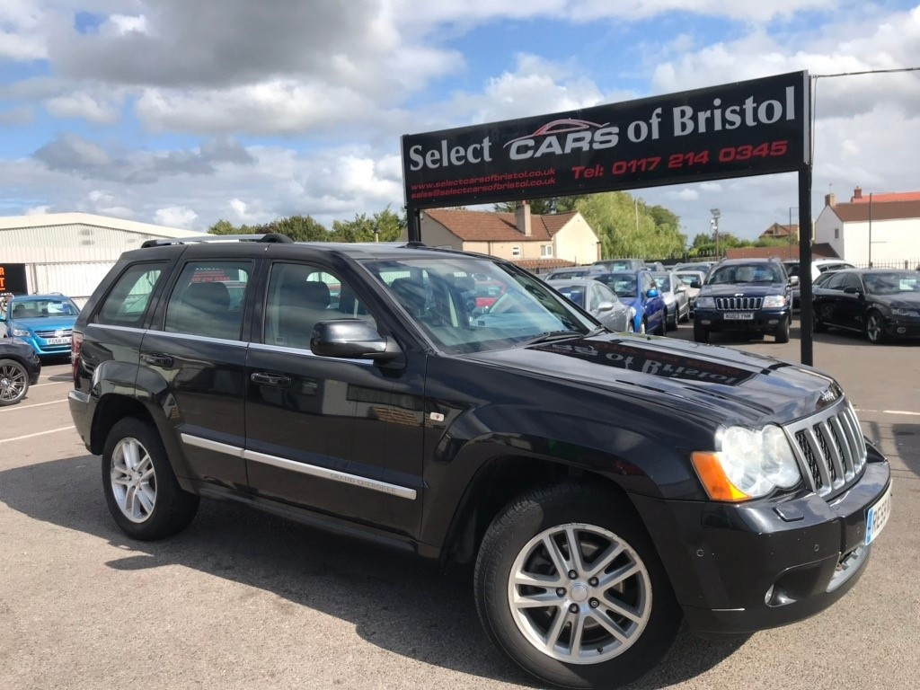 used Jeep Grand Cherokee CRD V6 Overland 4x4 5dr