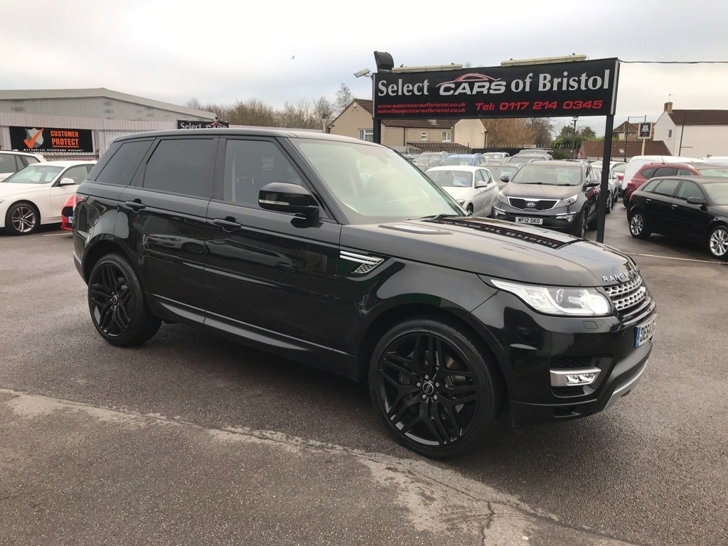 used Land Rover Range Rover Sport SD V6 HSE 4X4 5dr (start/stop)
