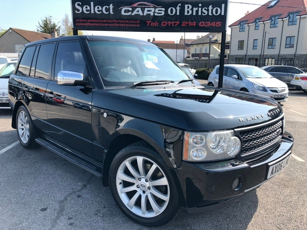 used Land Rover Range Rover 3.0 Td6 Vogue SUV 5dr Automatic (299 g/km, 174 bhp)