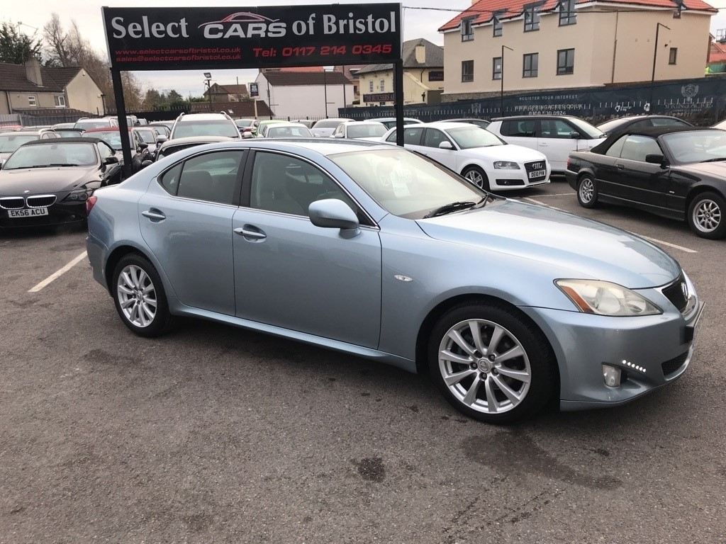 used Lexus IS 250 SE Saloon 4dr Automatic (214 g/km, 204 bhp)