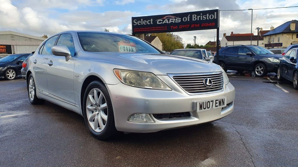 used Lexus LS 460 Saloon 4dr Automatic (261 g/km, 375 bhp)
