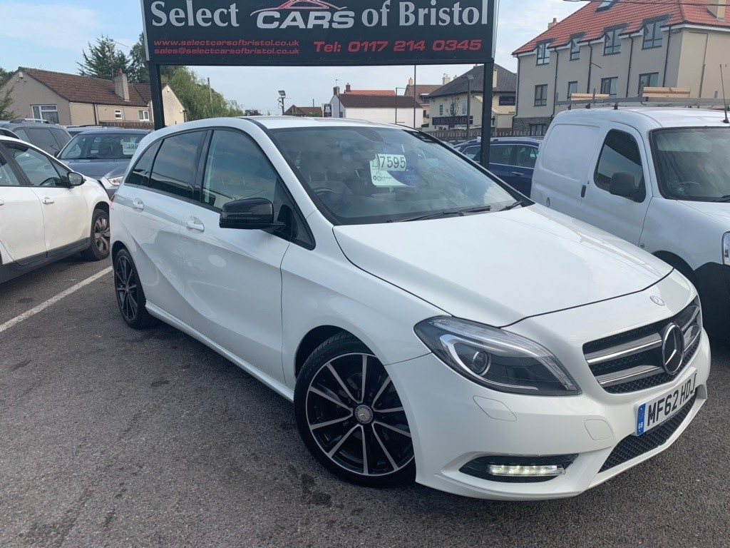 used Mercedes B200 CDI B Class BlueEFFICIENCY Sport Hatchback 5dr 7G-DCT (s/s) (121 g/km, 136 bhp)