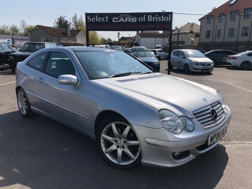 used Mercedes C200 C Class CDI SE Coupe 2dr Automatic (183 g/km, 122 bhp)