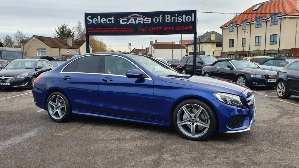 used Mercedes C220 C Class AMG Line G-Tronic+ (s/s) 4dr
