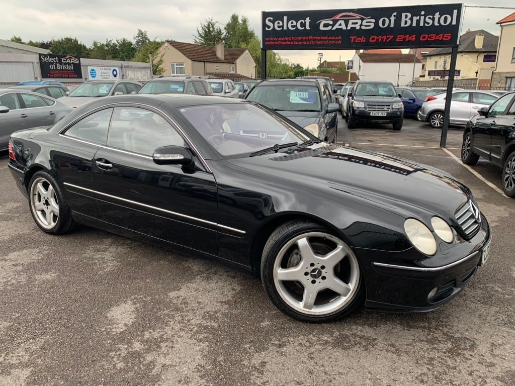 used Mercedes CL500 CL 2dr