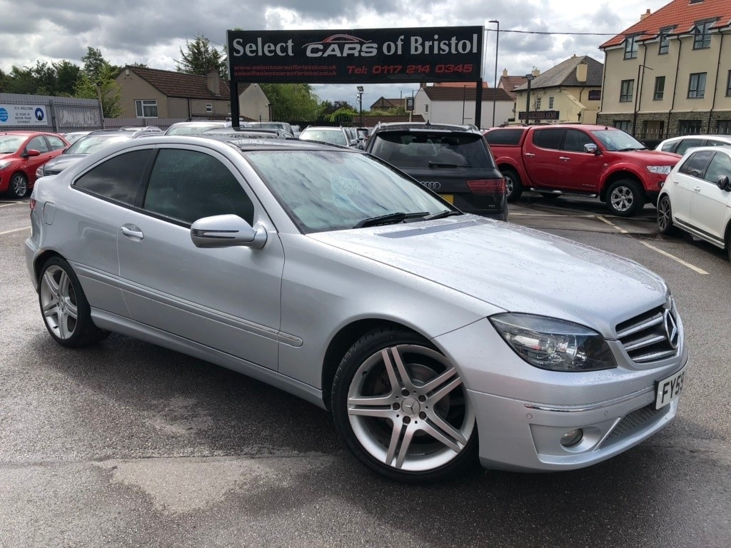 Used Silver Mercedes Clc220 For Sale Gloucestershire