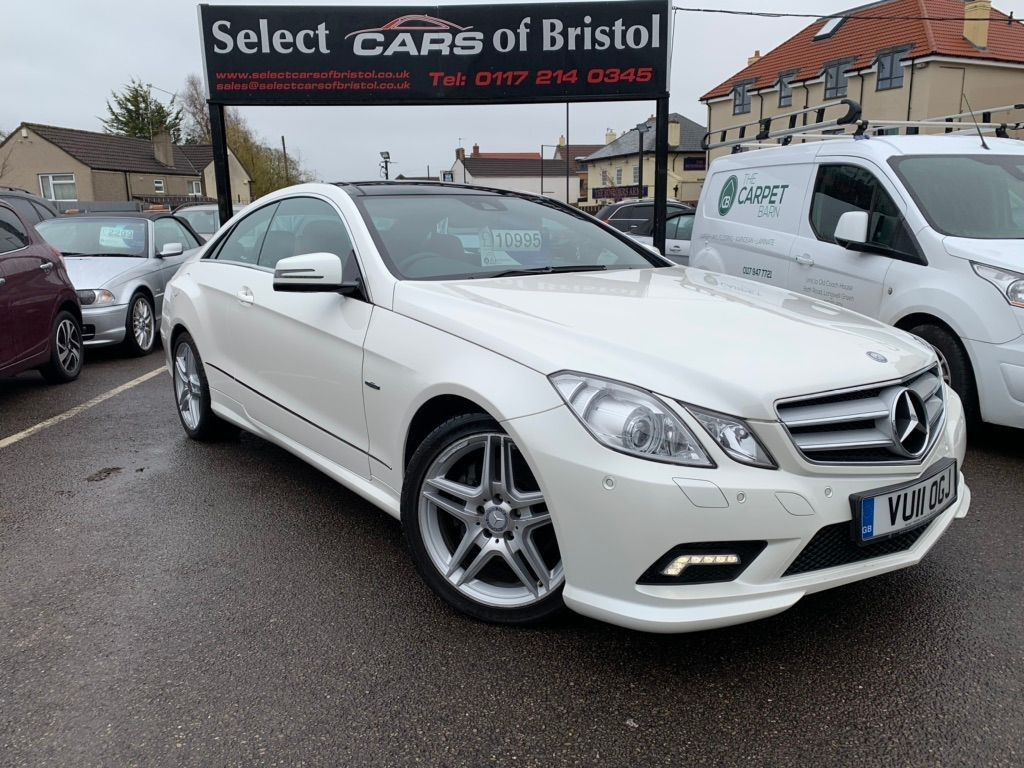 used Mercedes E250 CDI BlueEFFICIENCY Sport Coupe