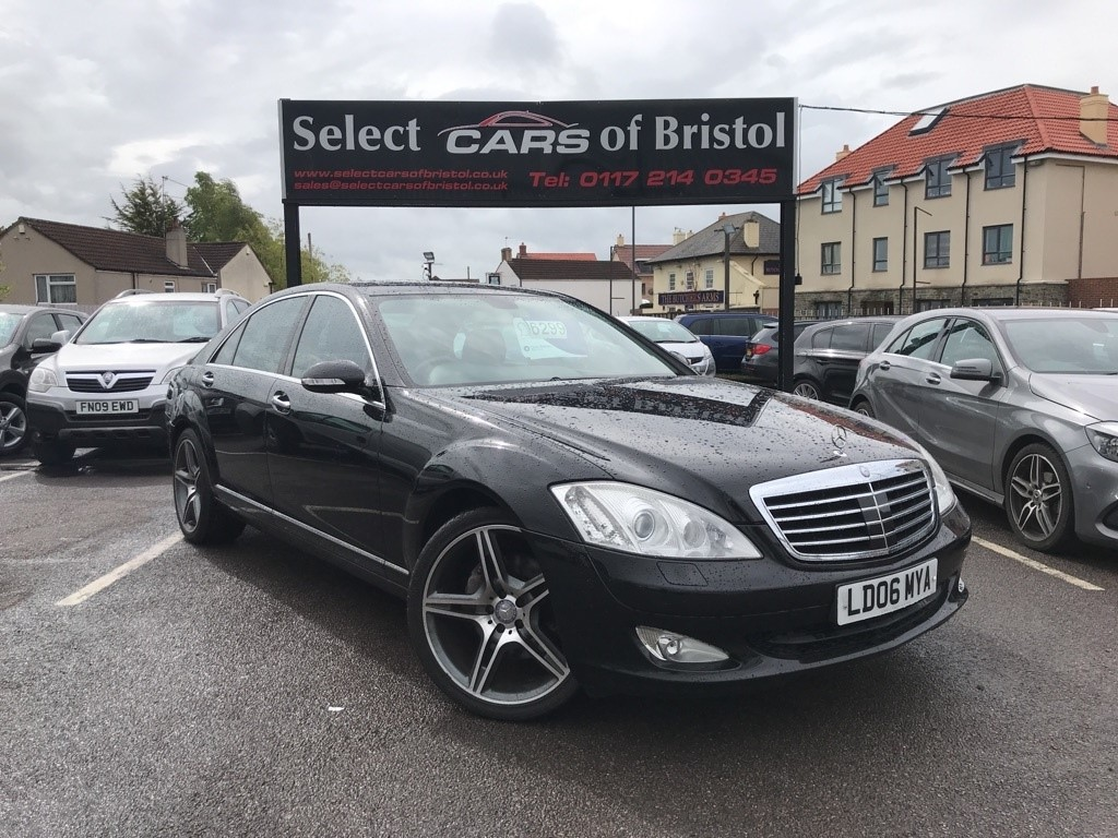 used Mercedes S320 S Class CDI L 7G-Tronic 4dr