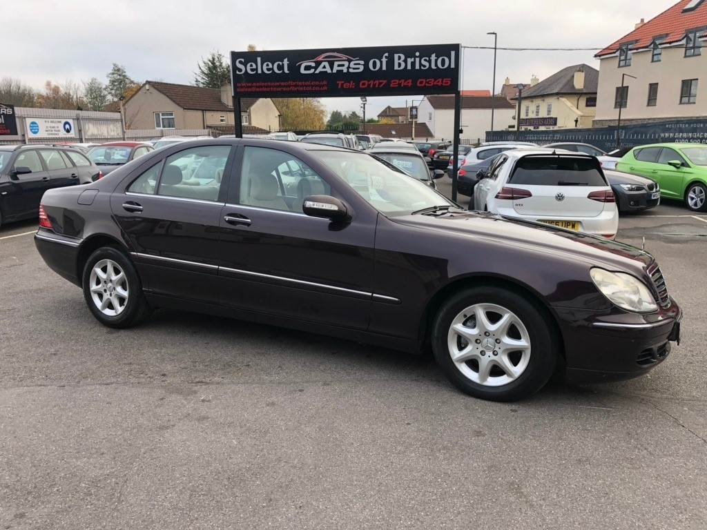 used Mercedes S320 S Class CDI 4dr