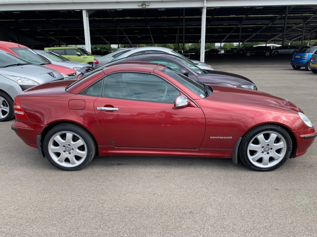 used Mercedes SLK SLK200 Kompressor 2dr