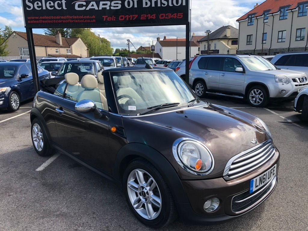 used MINI Convertible Cooper D Convertible 2dr Manual (105 g/km, 112 bhp)