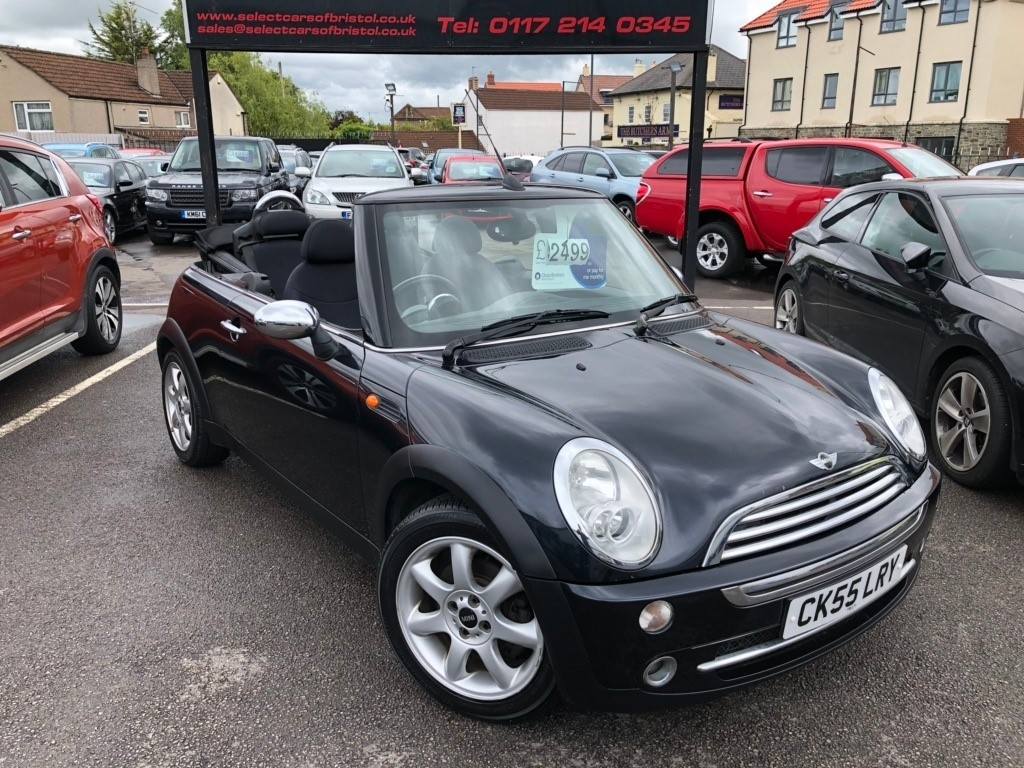 used MINI Convertible One Convertible 2dr Manual (168 g/km, 90 bhp)