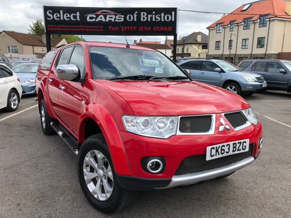 used Mitsubishi L200 DI-D CR Barbarian LB Double Cab Pickup 4dr Manual 4WD (EU5) (208 g/km, 175 bhp)