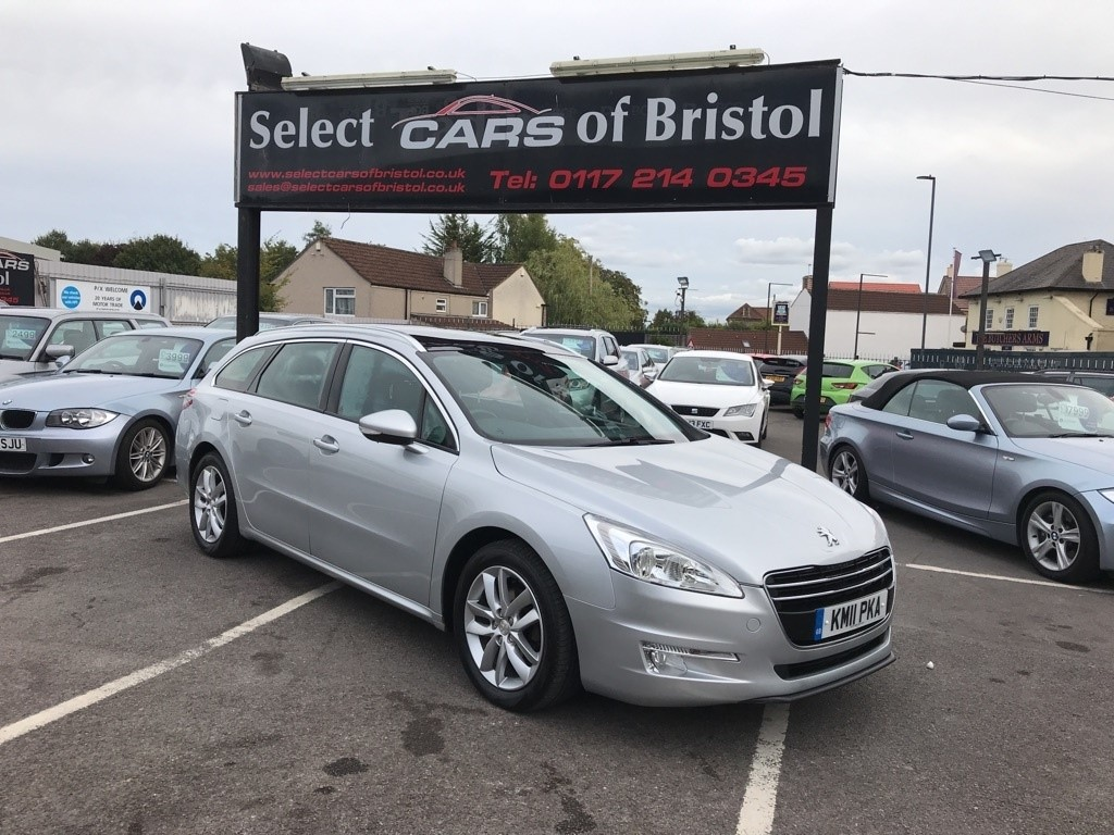 used Peugeot 508 SW HDi FAP Active Estate 5dr Manual (125 g/km, 112 bhp)