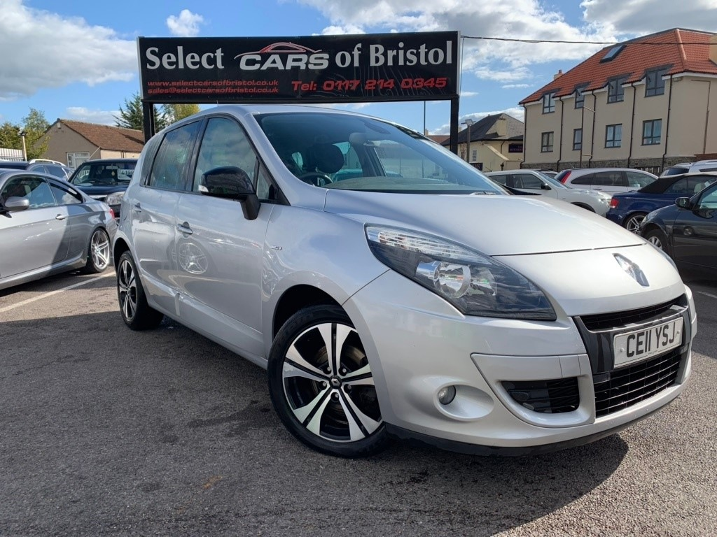 used Renault Scenic dCi Dynamique 5dr (Tom Tom)