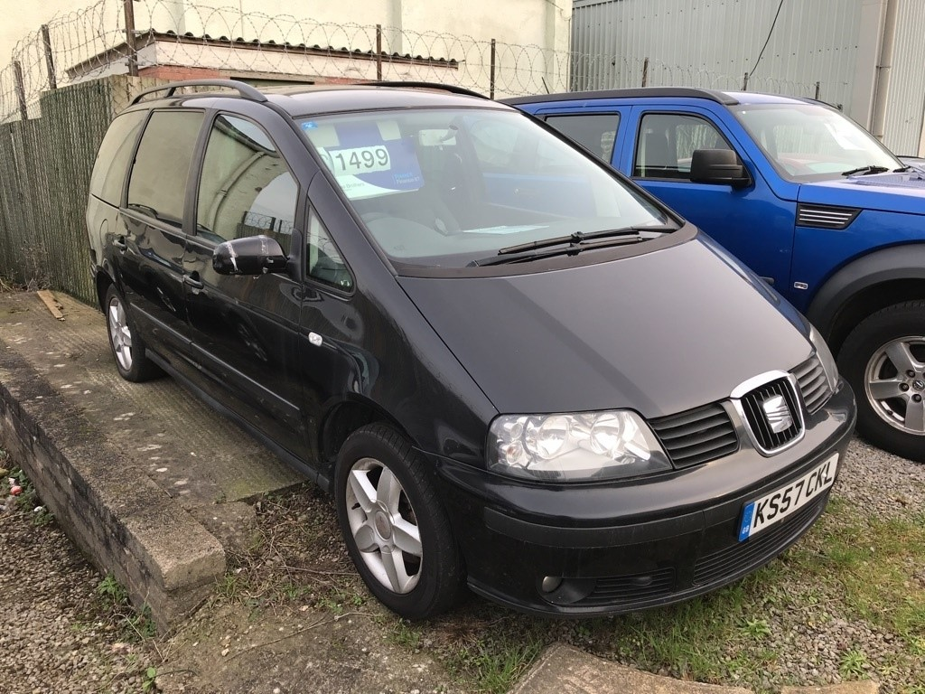 used SEAT Alhambra TDI Reference 5dr