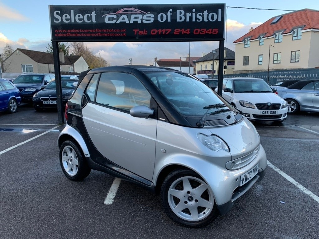 used Smart Car Fortwo City Pulse Cabriolet 2dr
