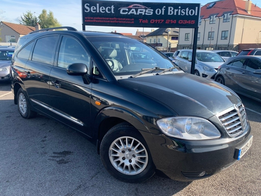 used Ssangyong Rodius TD S T-Tronic 5dr