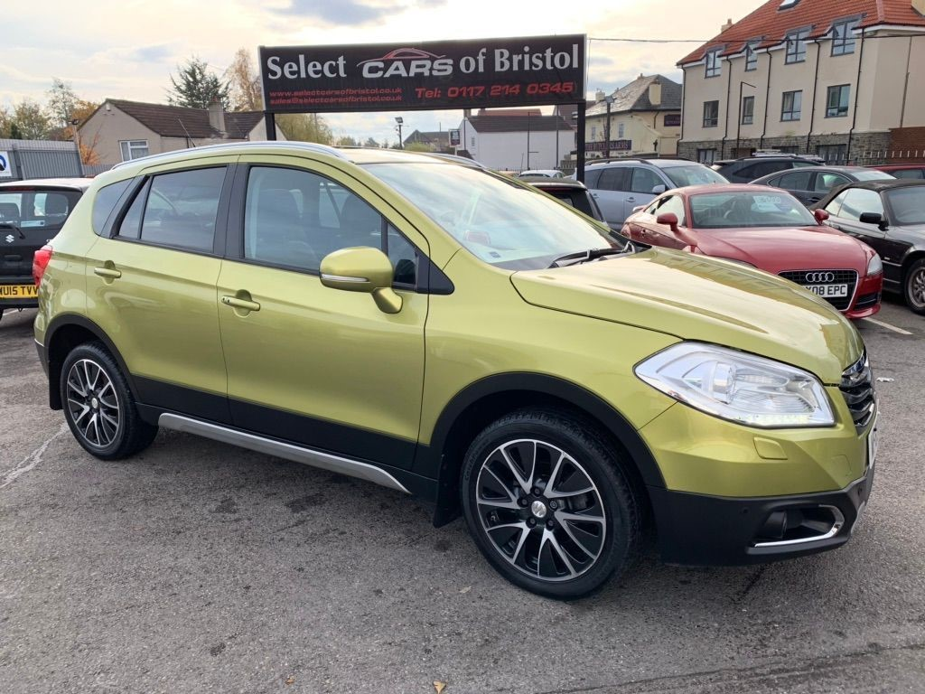used Suzuki SX4 S-Cross DDiS SZ5 SUV 5dr Manual ALLGRIP (114 g/km, 118 bhp)