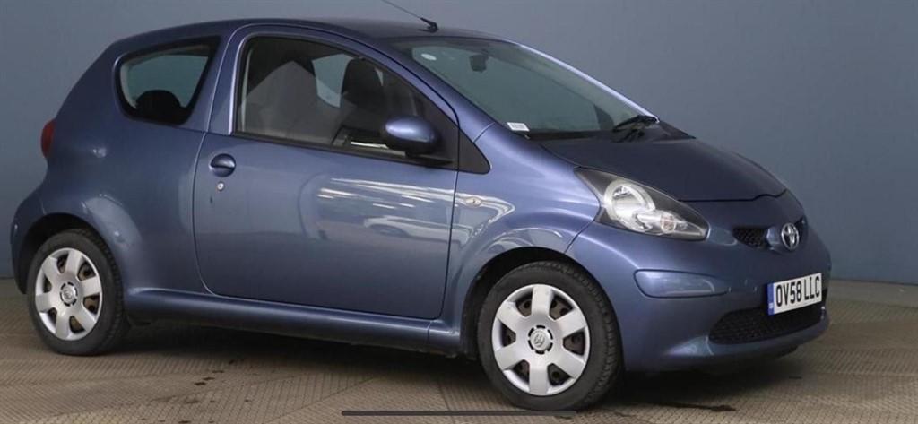 used Toyota Aygo Blue