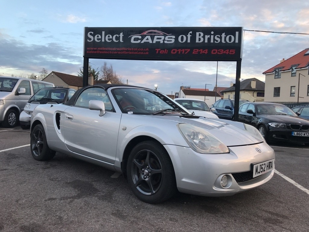 used Toyota MR2 VVT-i Roadster Convertible 2dr Manual (178 g/km, 138 bhp)