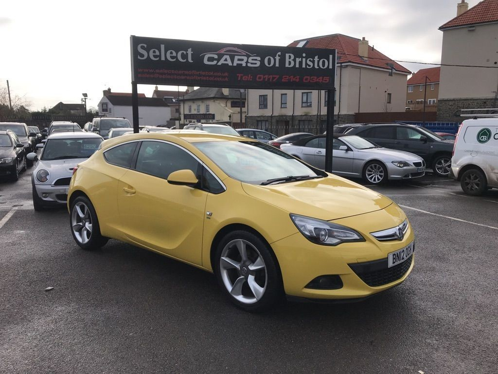 used Vauxhall Astra GTC CDTi SRi Coupe 3dr (s/s) (165 ps)