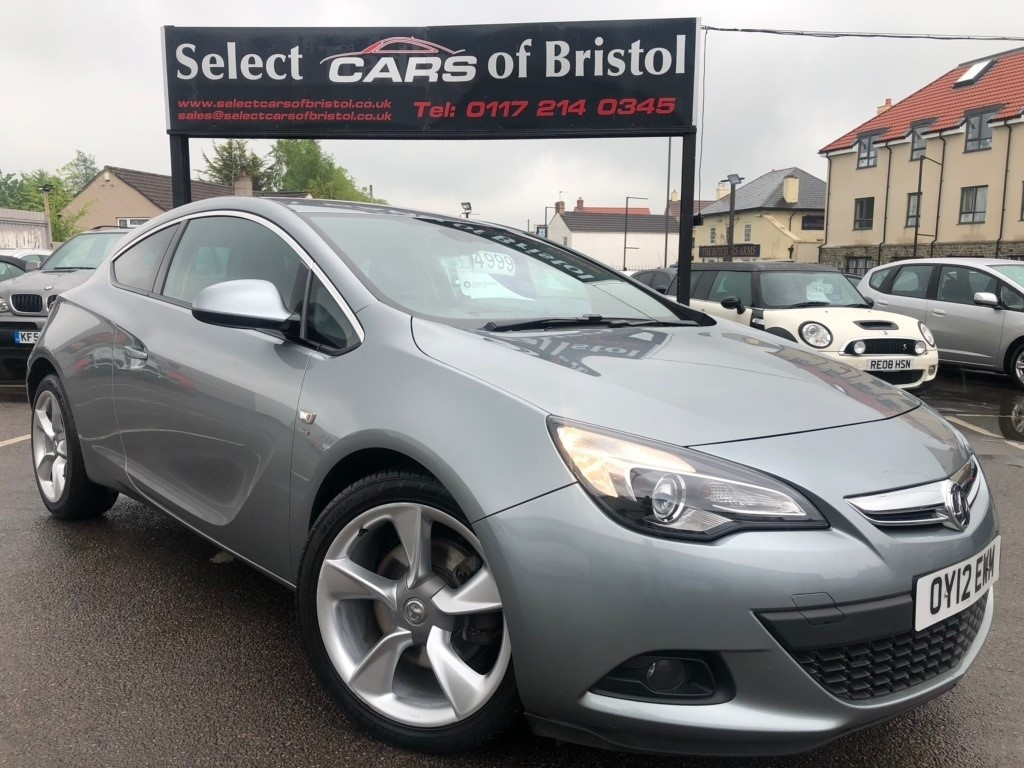 used Vauxhall Astra GTC i Turbo 16v SRi Coupe 3dr Manual (s/s) (139 g/km, 138 bhp)