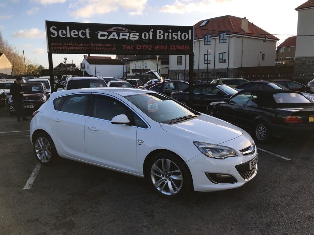 used Vauxhall Astra CDTi SRi Hatchback 5dr (130 ps)
